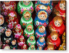 Matryoshka Dolls Acrylic Print