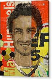 Mats Hummels Acrylic Print