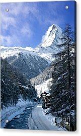 Matterhorn  Acrylic Print by Brian Jannsen
