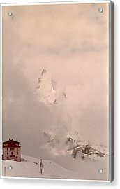 Matterhorn Circa 1970 Acrylic Print