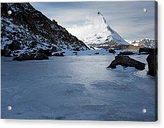 Matterhorn From Switzerland Acrylic Print