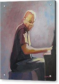 Matthew Shipp New York Pianist Acrylic Print