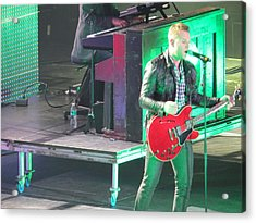 Matthew West At Winterjam Acrylic Print by Aaron Martens