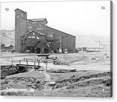 Mauch Chunk Now Jim Thorpe Pennsylvania Coal Mine 1902 Vinta Acrylic Print