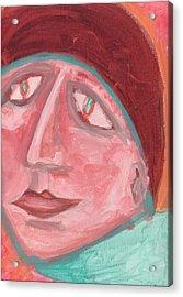 Maudlin Acrylic Print by Donna Crist