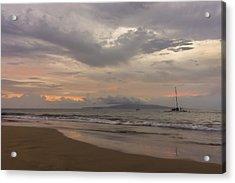 Maui Beach Acrylic Print