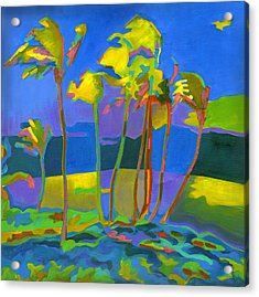 Maui Breeze Acrylic Print