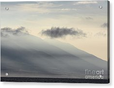 Maui In Gray Acrylic Print