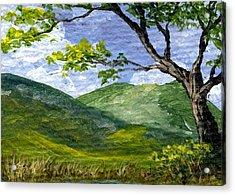 Maui Landscape Acrylic Print by Darice Machel McGuire