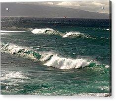 Maui Northshore Waves Acrylic Print