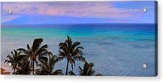 Maui Panorama Acrylic Print