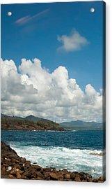 Maui Sea And Surf Acrylic Print