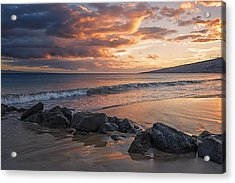 Maui Sunbathe Acrylic Print