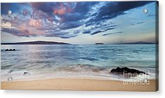 Maui Sunrise With Kahoolawe Molokini And Lanai Acrylic Print