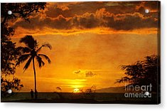 Maui Sunset Dream Acrylic Print