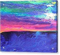 Maui Sunset Acrylic Print by Ralph White