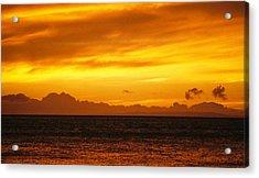 Maui Sunset Sun 125 Acrylic Print