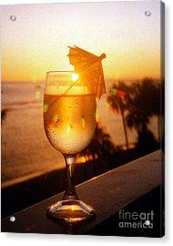 Maui Wine Hawaii Acrylic Print by Jerome Stumphauzer