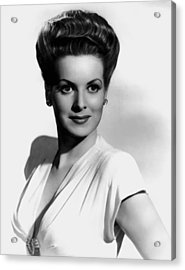 Maureen O'hara Acrylic Print by Mountain Dreams