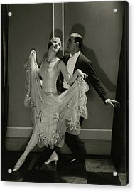 Maurice Mouvet And Leonora Hughes Dancing Acrylic Print by Edward Steichen