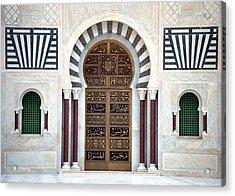 Mausoleum Doors Acrylic Print