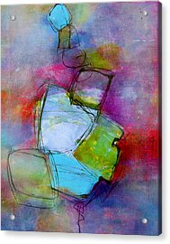 Acrylic Print featuring the painting Maverick by Katie Black
