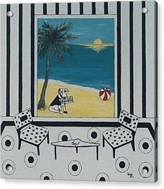 Max And The Miami Herald Acrylic Print