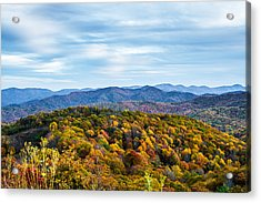 Max Patch Bald Acrylic Print