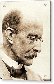 Max Planck Acrylic Print by American Philosophical Society