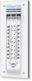 Maximum-minimum Thermometer Acrylic Print by Dorling Kindersley/uig