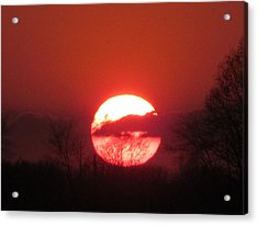 May 1 2013 Sunset Acrylic Print