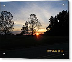 May 23 Sunset One Acrylic Print
