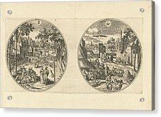 May And June, Adriaen Collaert, Hans Bol Acrylic Print by Adriaen Collaert And Hans Bol And Hans Van Luyck