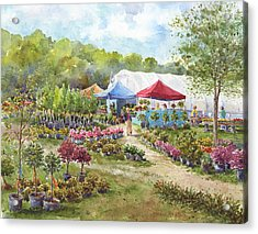 May Morning Acrylic Print by Leslie Fehling