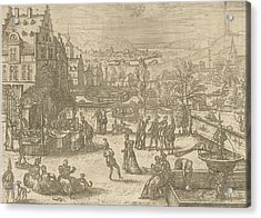 May, Pieter Van Der Borcht Acrylic Print by Pieter Van Der Borcht (i)