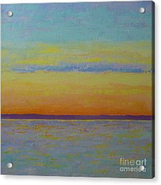 May Sunset Acrylic Print by Gail Kent