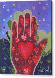 May We Choose Love Acrylic Print