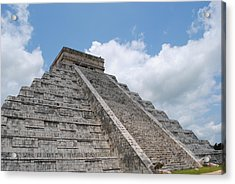 Acrylic Print featuring the photograph Maya Architecture by Robert  Moss
