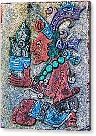Maya Legends Acrylic Print by Olga Hamilton