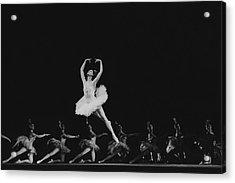 Maya Plisetskaya Dancing In The Humpbacked Horse Acrylic Print by Horst P. Horst