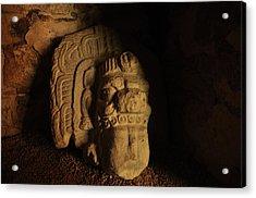 Mayan Tomb Acrylic Print