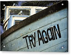 Maybe Next Time Acrylic Print by Andrew Soundarajan