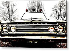 Mayberry Acrylic Print by Sharon Costa
