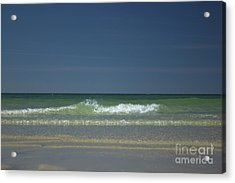Mayflower Beach On Cape Cod Acrylic Print