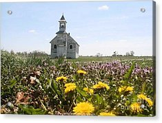 Mayflower Church Acrylic Print