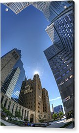 Mayo Clinic In Rochester Acrylic Print