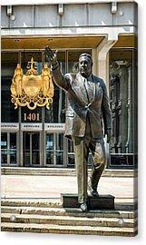 Mayor Frank L. Rizzo Monument Acrylic Print