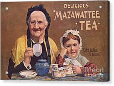 Mazawattee 1890s Uk Tea Acrylic Print by The Advertising Archives