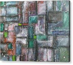 Maze Acrylic Print by Nicholas Juhl