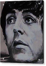 Mccartneys Eyes Acrylic Print by Eric Dee